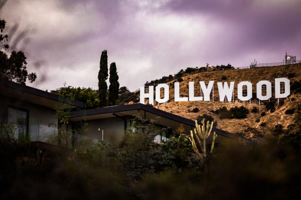 Hollywood sign, celebrities with nut allergies